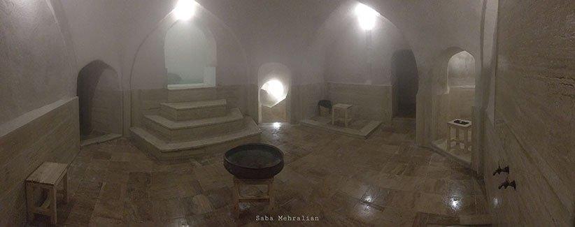حمام روستای اصفهک