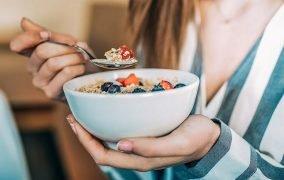 صبحانه برای لاغری شکم