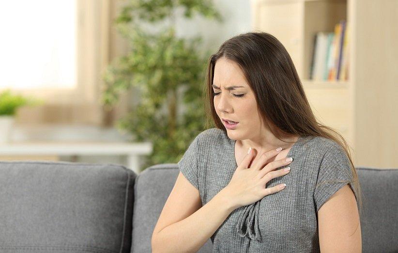 مشکل تنفسی از عوارض گرما