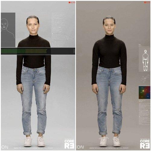انسان مصنوعی سامسونگ