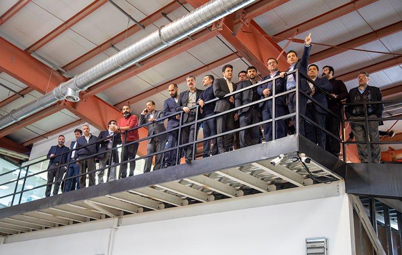 بازدید وزیر صنعت، معدن و تجارت از مرکز پردازش دیجیکالا
