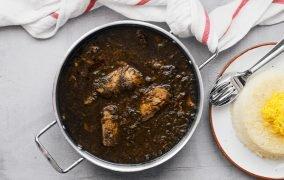 طرز تهیه قلیه ماهی با تن