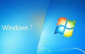 پشتیبانی ویندوز 7