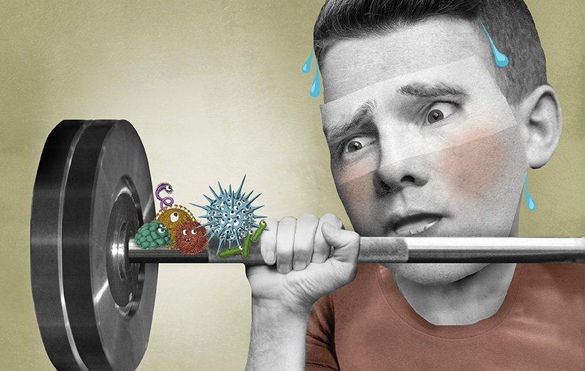 چطور در باشگاه بدون نگرانی از میکروبها ورزش کنیم؟
