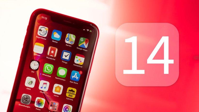 آیفون iOS 14