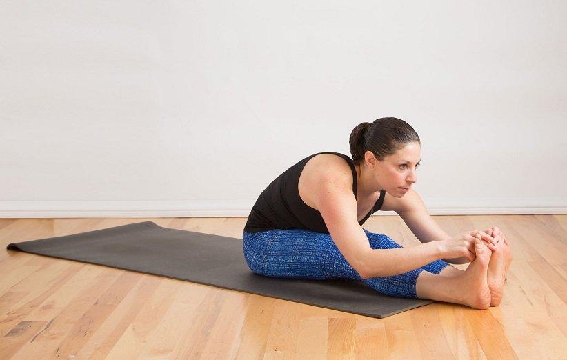 یوگا برای لاغری شکم و پهلو
