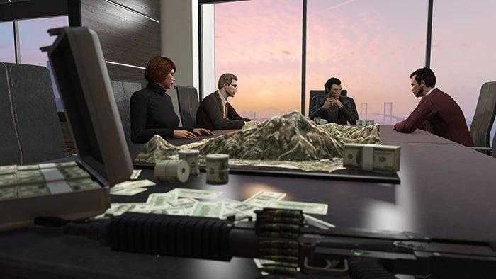 بازی Grand Theft Auto Online