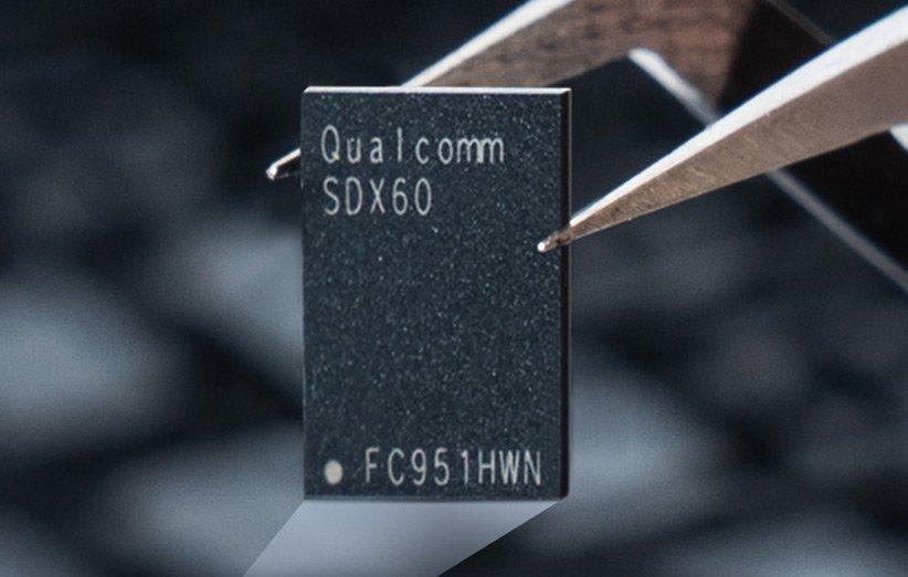 کوالکام از مودم اسنپدراگون X60 برای گوشیهای ۵G رونمایی کرد