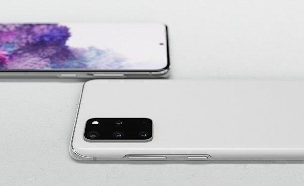 White galaxy s20