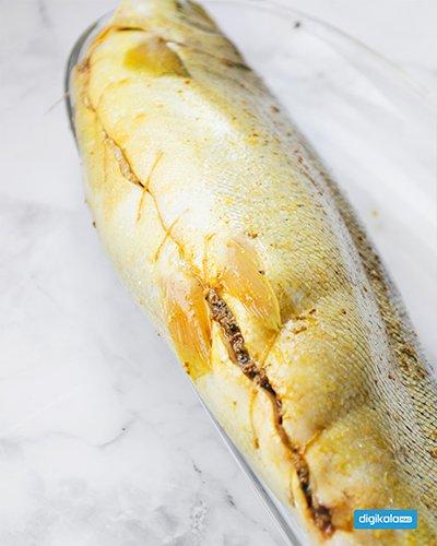 ماهی شکم پر مرحله به مرحله