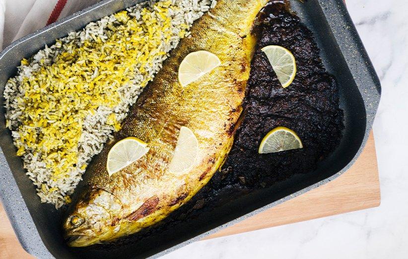 طرز تهیه ماهی شکم پر شمالی