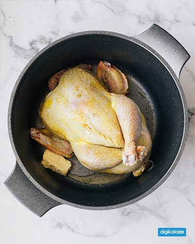 مرغ شکم پر اهوازی