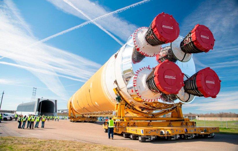 سامانه پرتاب فضایی