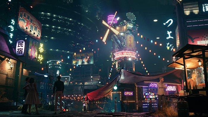 اسکرینشات بازی Final Fantasy VII Remake
