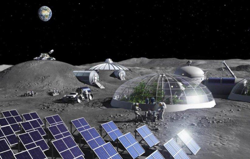 استفاده از ادرار فضانوردان؛ راه حلی برای ساخت پایگاه در سطح ماه