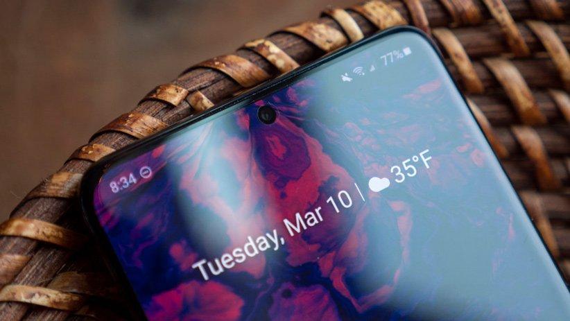 نمایشگر 120 هرتز گوشی