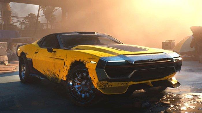 خودروی Quadra بازی Cyberpunk 2077
