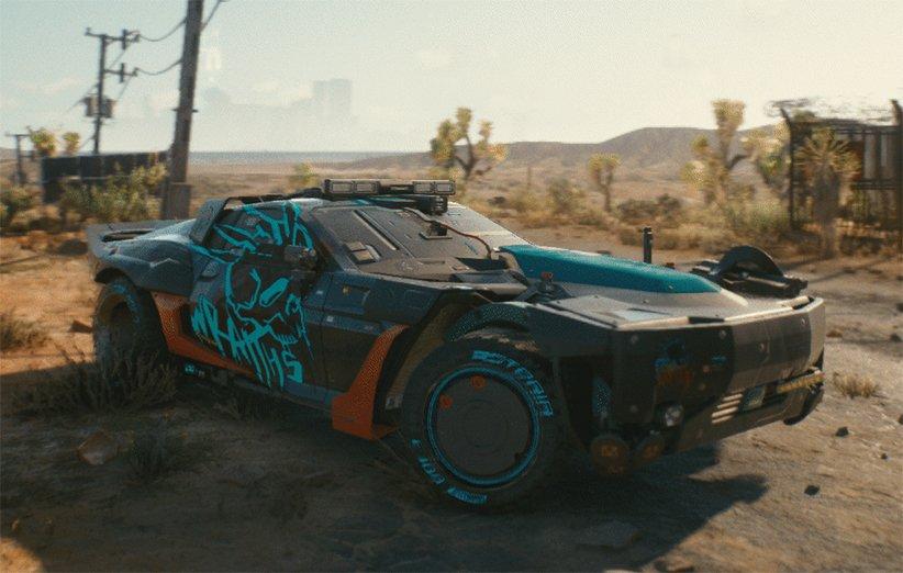 خودروی Reaver بازی Cyberpunk 2077