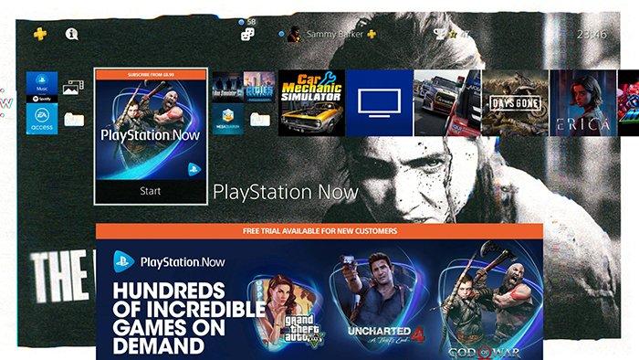 استریم بازی PlayStation Now
