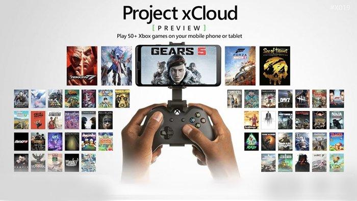 استریم بازی Project xCloud