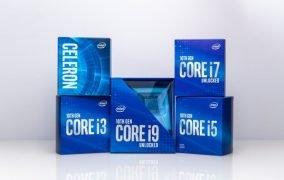 پردازندههای نسل 10 اینتل