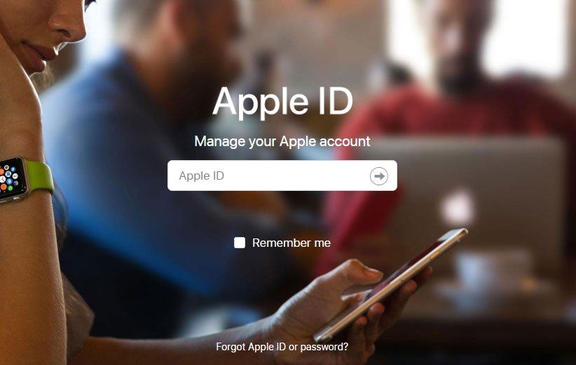 آموزش ساخت اپل آیدی از طریق سایت اپل