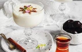 طرز تهیه شیر برنج مجلسی