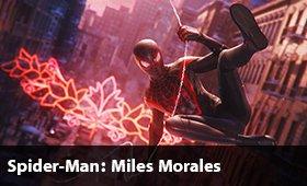 بازی Spider-Man Miles Morales برای پلیاستیشن 5 رونمایی شد