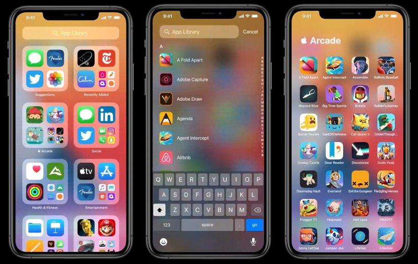 iOS 14 اندروید