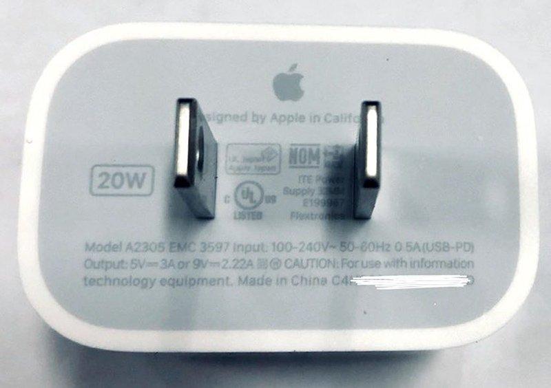 شارژر 20 واتی آیفون 12 اپل