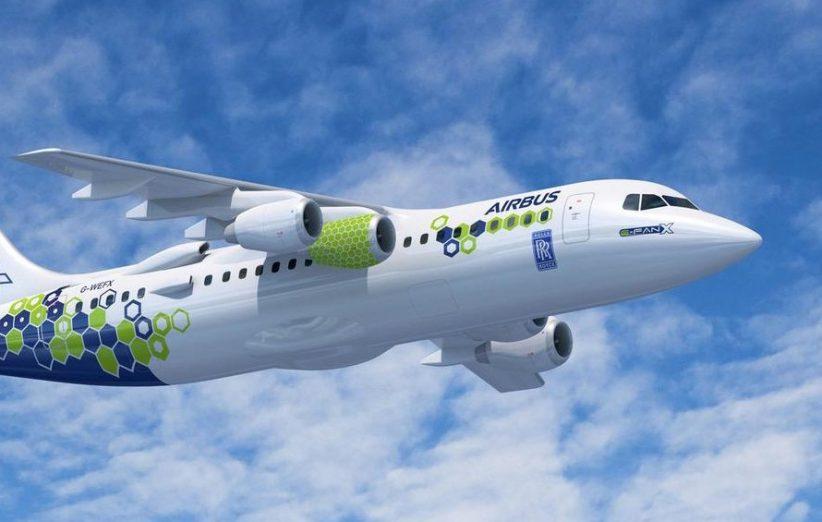 هواپیمای ایفنایکس ایرباس آزمایشی برای سوخت پاک