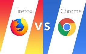 فایرفاکس در برابر گوگل کروم