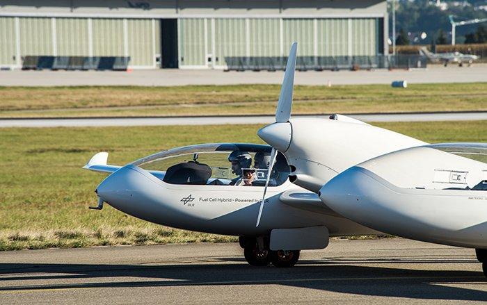 هواپیمای HY4 آژانس هوافضای آلمان