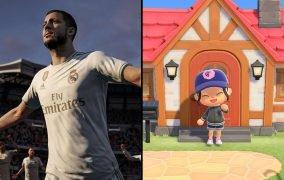بازی FIFA 20 و بازی Animal Crossing