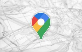 پین گوگل مپ روی یک نقشهی چاپی