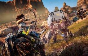 عکس از نسخهی PS4 بازی Horizon Zero Dawn