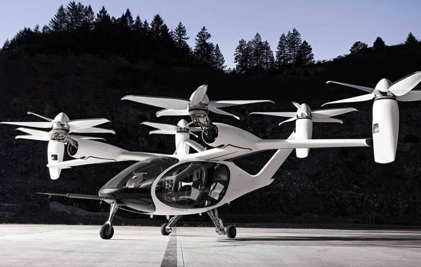 هواگرد شهری ژوبی که برای اوبر طراحی شده است