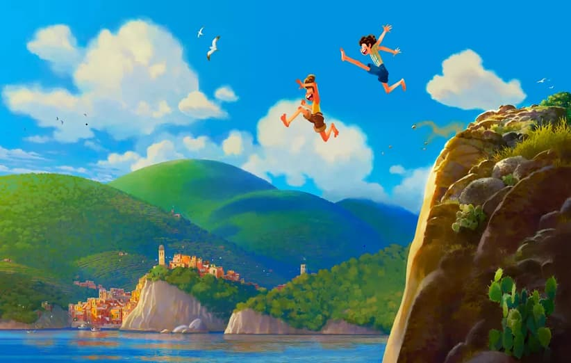 انیمیشن لوکا اثر جدید استودیو پیکسار