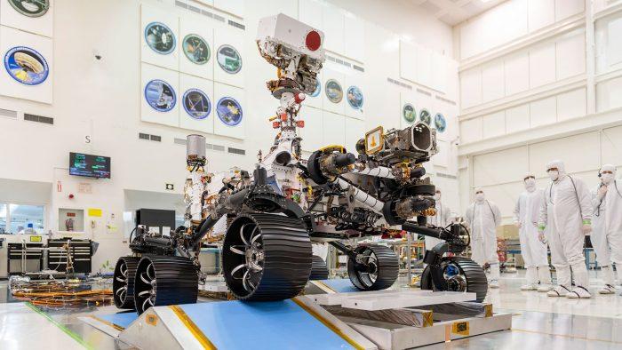 مریخنورد پشتکار در آزمایشگاه | NASA