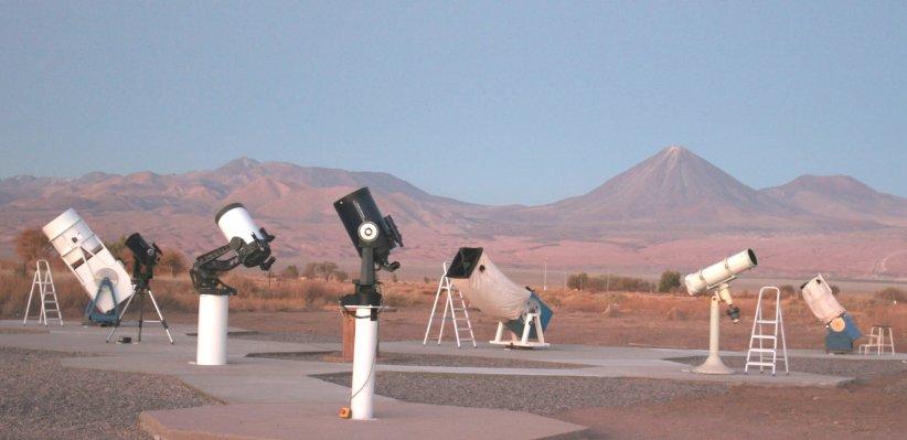 مزرعه تلسکوپ سن پدرو د آتاکاما