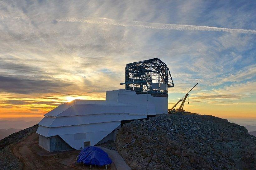تلسکوپ در حال ساخت ورا رابین