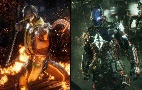 بازی Mortal Kombat و بازی Arkham Knight
