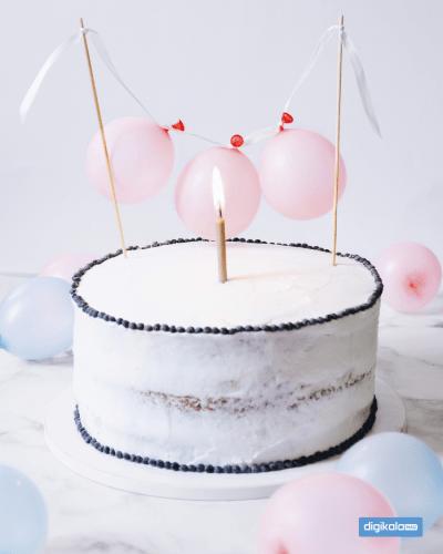 کیک تولد خامهای