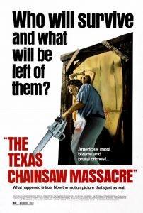 پوستر فیلم کشتار با اره برقی در تگزاس