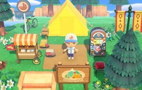 بازی Animal Crossing New Hoeozns