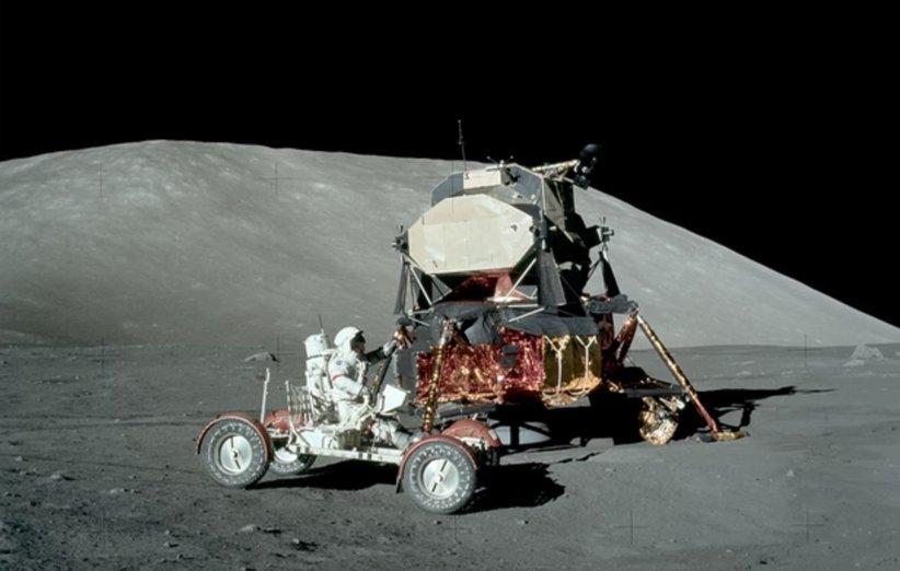 رانندگی در سطح ماه