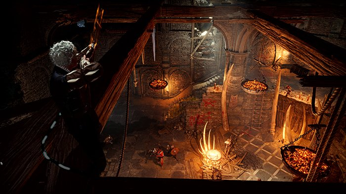 نمایی از بازی Baldur's Gate III