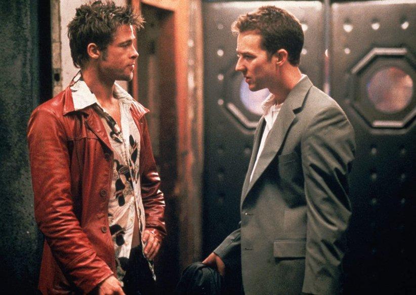 نمایی از فیلم باشگاه مشتزنی - بهترین فیلمهای دهه 90 میلادی