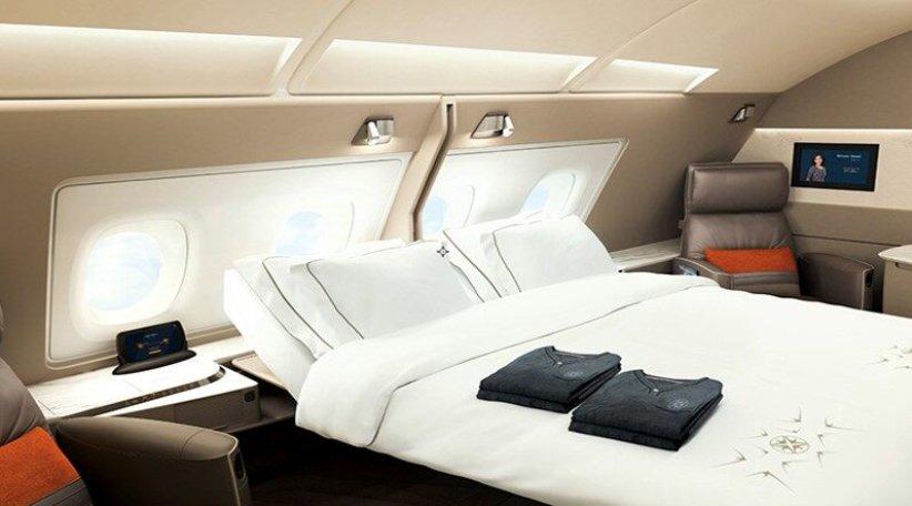 سوئیتهای فرست کلاس هواپیمای ایرباس A380