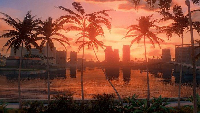نمایی از دستکاری Vice City برای GTA 5